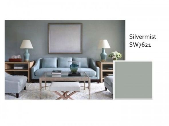 Can you trust a magazine s color advice color calling for Sherwin williams silver paint colors
